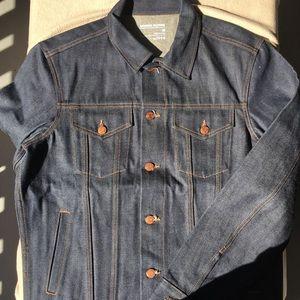 GAP Japanese selvedge denim trucker jacket